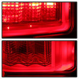 Spyder Ford F150 2015-2017 Light Bar LED Tail Lights - Red Clear ALT-YD-FF15015-LBLED-RC - 5083692