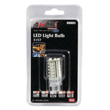ANZO LED Bulbs Universal 3157 Red - 30 LEDs 2in Tall - 809051