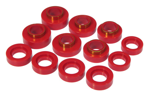 Prothane 67-81 Chevy Camaro Body Mount - Red - 7-119