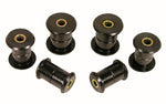 Prothane 99-14 Chevy Silverado 1500/2500 2/4wd Rear Spring Bushings - Black - 7-1055-BL