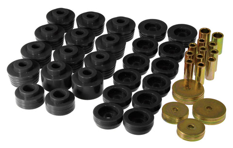 Prothane 78-88 GM Various Body Mount Kit - Black - 7-132-BL