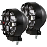 ANZO Hid Off Road Light Universal 6in HID BULLET Style Off Road Lights Black Pair - 861096