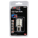 ANZO LED Bulbs Universal LED 1156 Red - 24 LEDs 2in Tall - 809018