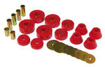 Prothane 67-72 Chevy C10 Body Mount Kit - Red - 7-101