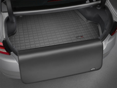 WeatherTech 14-17 BMW i3 Cargo Liners w/ Bumper Protector - Grey (Trim necessary for cargo mounts) - 42659SK