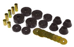 Prothane 67-72 Chevy C10 Body Mount Kit - Black - 7-101-BL