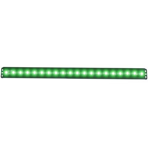 ANZO Universal 24in Slimline LED Light Bar (Green) - 861155