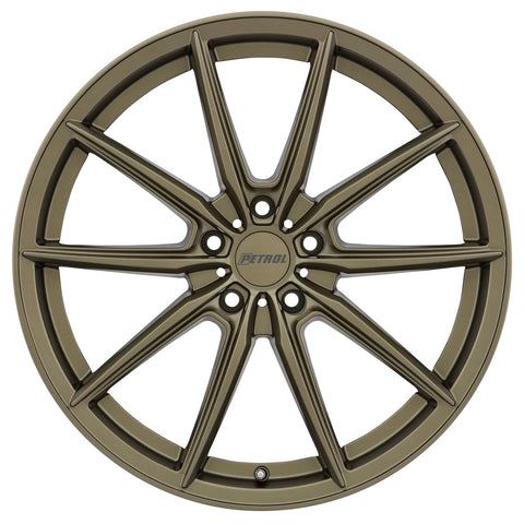 Chevy Bolt EV Wheels Bronze Petrol P4B 18x8 5x105 et40