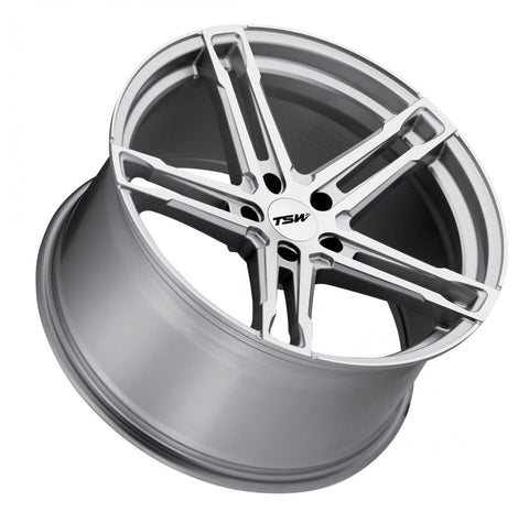 Mustang Mach-E Wheels TSW MECHANICA 18x8.0 5/108 ET40 CB72.1 SILVER W/MIRROR CUT FACE RF