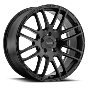 TSW Petrol 18x8 Matte Black Finish Chevy Bolt Wheels