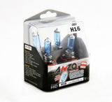 ANZO Halogen Bulbs Universal H16 12V 19W Super White Twin Pack - 809059
