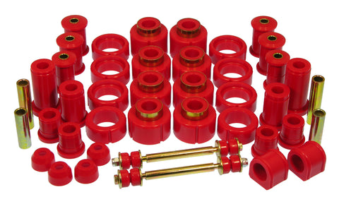 Prothane 88-98 Chevy Std / Xtra Cab 4wd Total Kit - Red - 7-2022