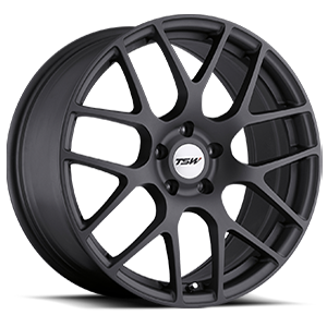 TSW Nurburgring 18x8 Matte Gunmetal Finish Lightweight Wheels Chevy Bolt