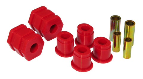 Prothane 99-00 Honda Civic Front Lower Control Arm Bushings - Red - 8-222