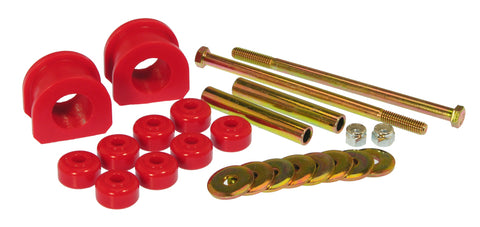 Prothane 82-01 GM S10 2wd Front Sway Bar Bushings - 1 1/8in - Red - 7-1167