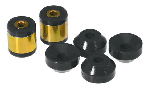 Prothane 96-00 Honda Civic Upper/Lower Rear Shock Bushing - Black - 8-904-BL
