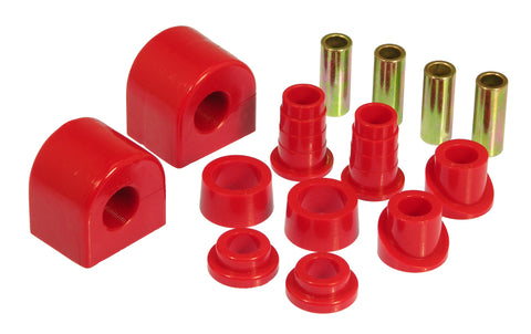 Prothane 88-96 Chevy Corvette Front Sway Bar Bushings - 22mm - Red - 7-1150