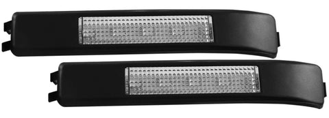 ANZO LED Mirror Lights 2009-2014 Ford F-150 LED Mirror Lights Clear w/ Amber LED - 861115