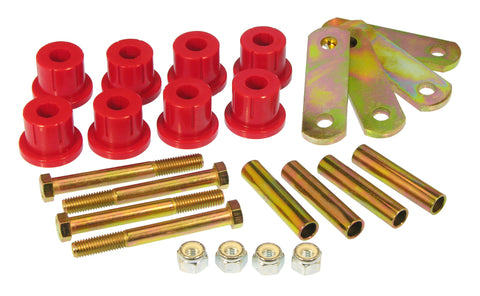 Prothane 62-74 Chevy Camaro/Nova HD Shackle Bushings - Red - 7-1053