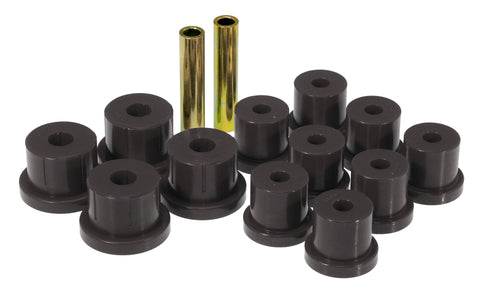 Prothane 67-69 Chevy Camaro Rear Mono Leaf Bushings - Black - 7-1010-BL