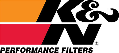 K&N Universal Rubber Filter 3in Flg 4-1/2inch OD B / 2-1/4inch H - Black Top - RE-5286