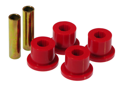Prothane 73-87 GM Rear 1.5in OD Frame Shackle Bushings - Red - 7-803