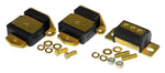 Prothane GM Motor & Trans Mount Kit - Black - 7-1907-BL