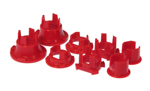 Prothane 10 Chevy Camaro Rear Subframe Bushing Insert Kit - Red - 7-146