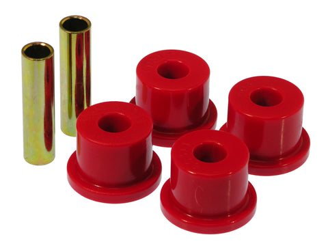 Prothane 73-87 GM Rear 1.75in OD Frame Shackle Bushings - Red - 7-804