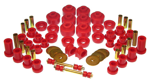 Prothane 07-14 Chevy Silverado 1500 2wd Total Kit - Red - 7-2046