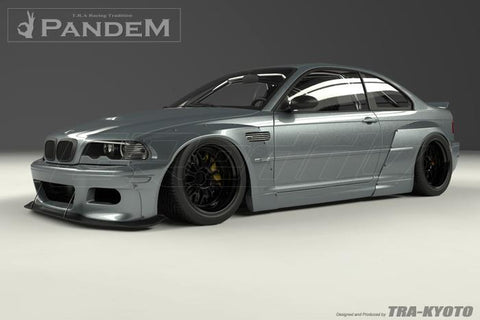 GReddy BMW E46 M3 Pandem Wide Body Front Lip - 17090221
