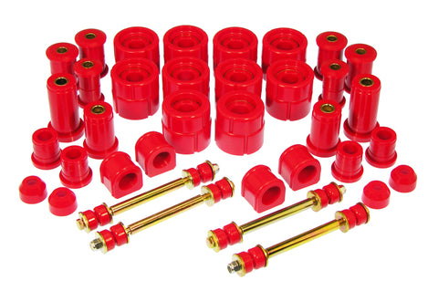 Prothane 92-94 Chevy Blazer 4wd Total Kit - Red - 7-2035