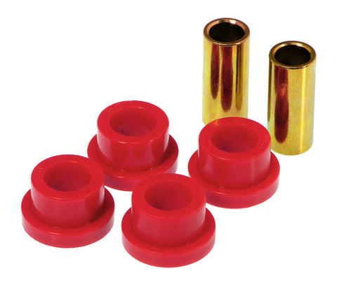 Prothane 65-70 GM Full Size Rear Panhard Bar Bushings (1 1/8in ends) - Red - 7-1208