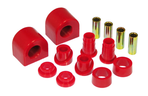 Prothane 88-96 Chevy Corvette Front Sway Bar Bushings - 26mm - Red - 7-1152