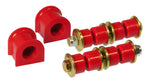 Prothane 92-97 Honda Civic Front Sway Bar Bushings - 21mm - Red - 8-1101