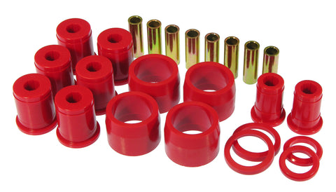 Prothane 65-70 GM Full Size Rear Upper/Lower Control Arm Bushings - Red - 7-310