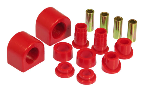 Prothane 88-96 Chevy Corvette Front Sway Bar Bushings - 30mm - Red - 7-1153