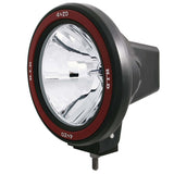 ANZO Hid Off Road Light Universal 7in HID Off Road Fog Lamp w/ AnzoUSA Red bezel - 861093