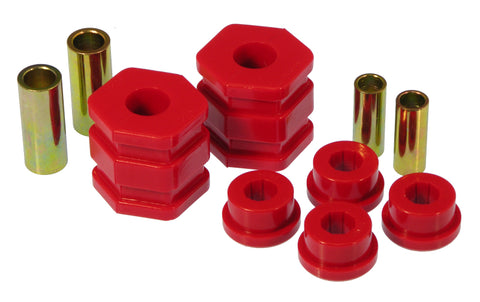 Prothane 96-00 Honda Civic Front Lower Control Arm Bushings - Red - 8-220