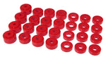 Prothane 68-72 GM Mid-Size Hardtop Body Mount - Red - 7-123