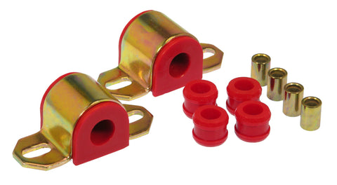 Prothane 63-82 Chevy Corvette Rear Sway Bar Bushings - 7/16in - Red - 7-1141