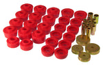 Prothane 78-88 GM Various Body Mount Kit - Red - 7-132