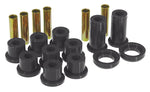 Prothane 82-00 GM S-Series 2/4wd Rear Spring & Shackle Bushings - Black - 7-1016-BL