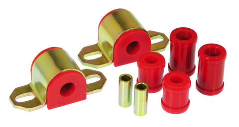 Prothane 67-81 Chevy Camaro/Firebird Rear Sway Bar Bushings - 11/16in 1-Bolt - Red - 7-1118