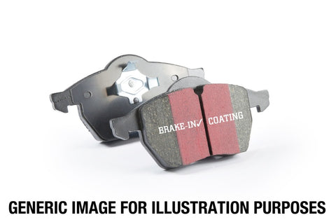 EBC 14+ BMW i3 Electric Ultimax2 Rear Brake Pads - UD1762