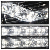 Spyder Chevy Silverado 1500 07-13 V2 Projector Headlights - LED DRL - Chrome PRO-YD-CS07V2-DRL-C - 5083586