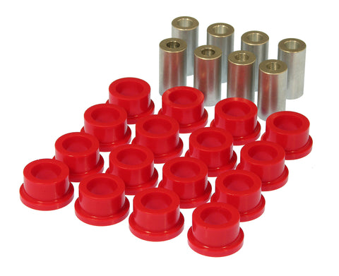 Prothane 10 Chevy Camaro Rear Toe & Trailing Arm Link Bushings - Red - 7-1214