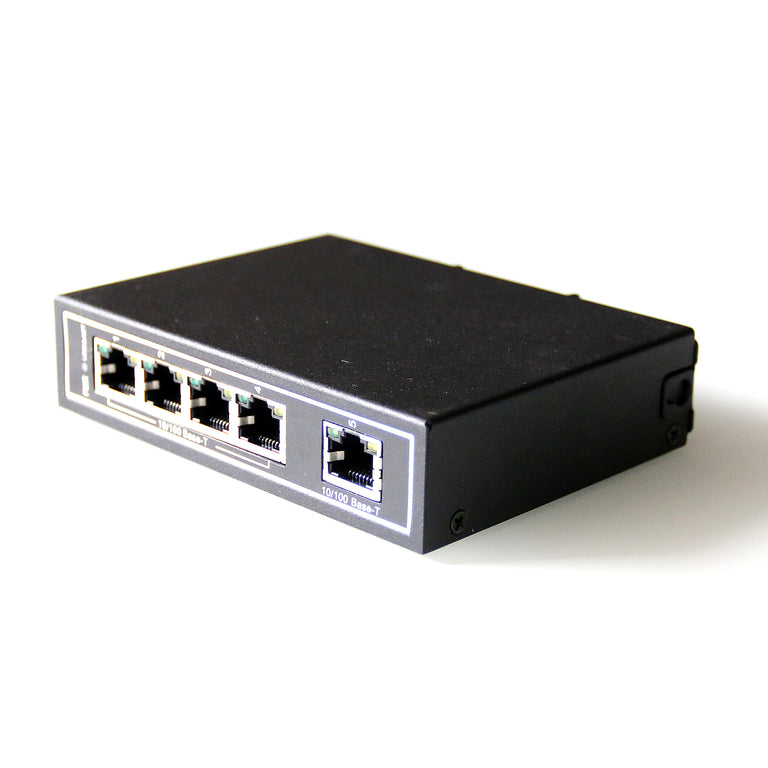 WDH-5ET-DC 10/100Mbps 5-Port Industrial Ethernet Switches