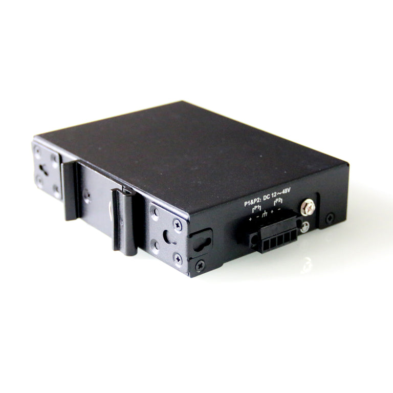 WDH-5GT-DC 10/100/1000Mbps 5-Port Gigabit Industrial Ethernet Switches (Fanless, -30°C~75°C)