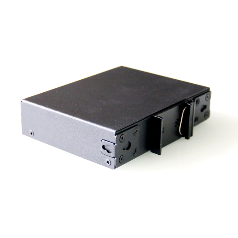 WDH-5GT-POE 10/100/1000Mbps 5-Port PoE Gigabit Industrial Ethernet Switches (Fanless, -30°C~75°C)